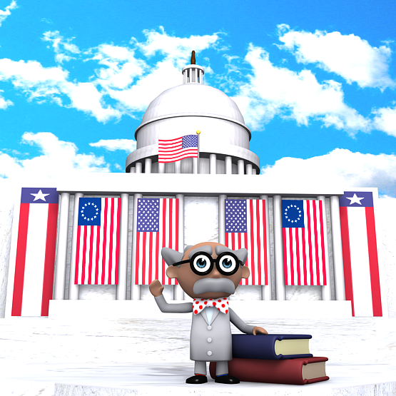 Learn About Inauguration Day from Inspector Pumphead