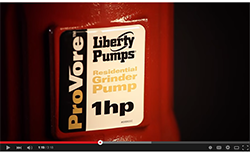 Liberty Pumps PRG Series ProVore Residnetial Grinder Pump