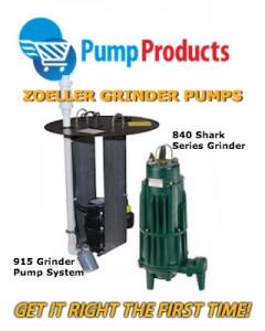 Zoeller Grinder pumps-Pump products