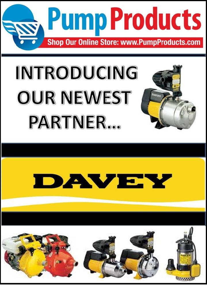Davey pumps - pump products