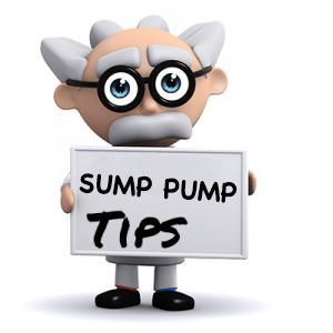 Sump pump tips
