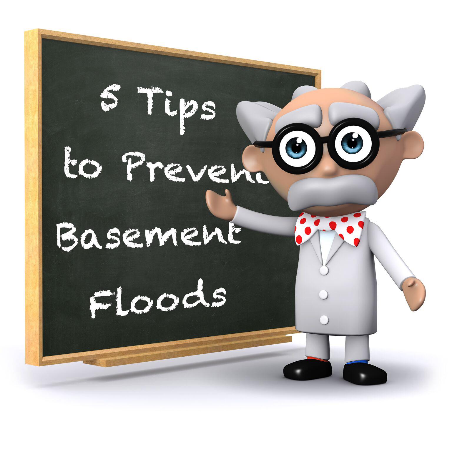 Preventing basement floors