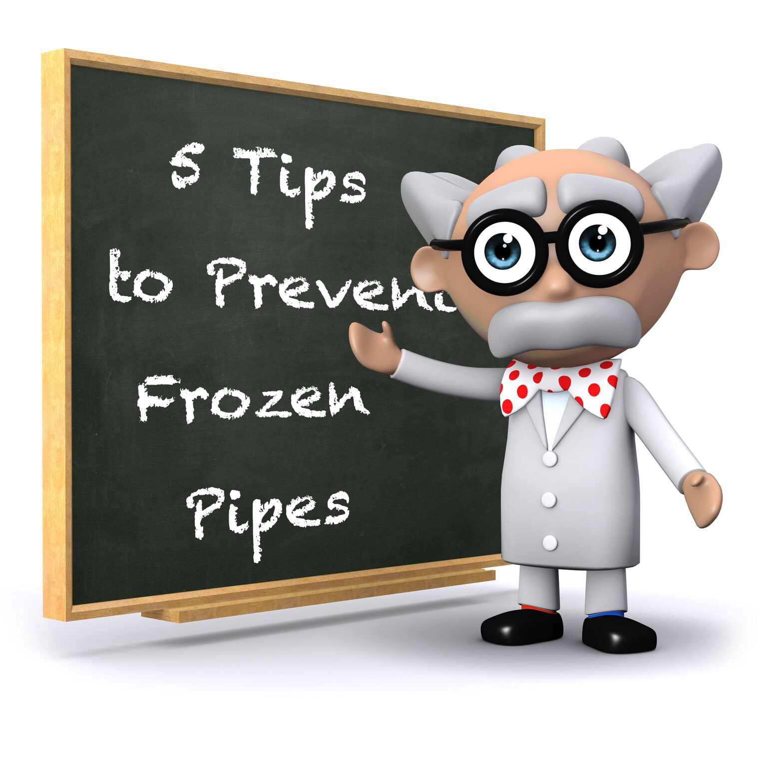 Steps to prvent frozing
