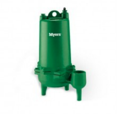 MYERS MW SERIES SINGLE SEAL SEWAGE PUMPS