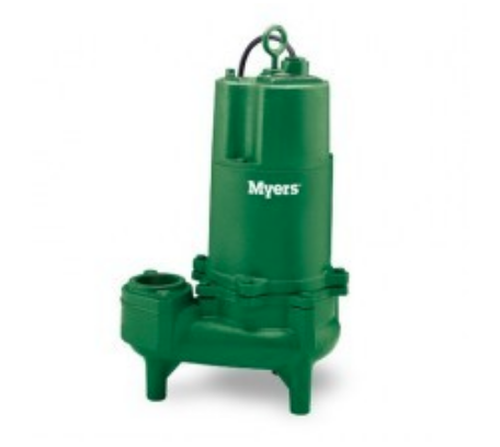 MYERS WHR  SERIES DUAL SEAL SEWAGE PUMPS