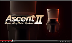 Liberty Pumps Ascent II Macertaing Toilet System
