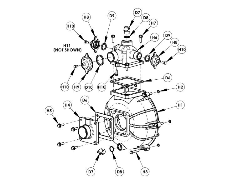 Amt 2mp9zr High Pressure Fire Pump With Hatz Diesel 1b40 Manual Guide