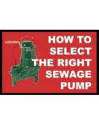 SEWAGE PUMP BUYER'S GUIDE
