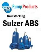 PUMP PRODUCTS NOW STOCKING SULZER ABS PUMPS