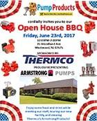 PUMP PRODUCTS TO HOST OPEN HOUSE BBQ ON JUNE 23