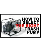 TRASH PUMP BUYER'S GUIDE