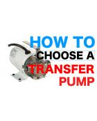 TRANSFER PUMP BUYER'S GUIDE