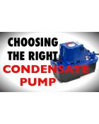 CONDENSATE PUMP BUYER'S GUIDE