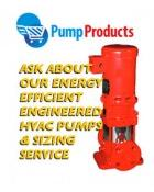 Pump Products Promotes High Efficiency Pumps For Industrial Air Conditioning Systems