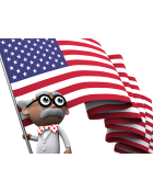 Happy Flag Day from Inspector Pumphead!